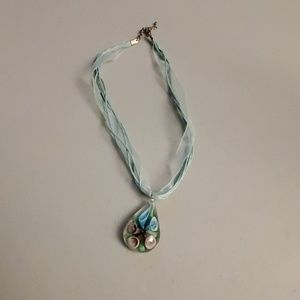 Callalilly necklace